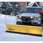 Fisher 6.8 Poly Homesteader Snowplow Front-1