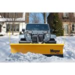 Meyer 7.6' Drive Pro Steel Mount Snowplow 02