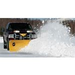 "Fisher 7.6"" HD Series Snowplow Plowing-4"