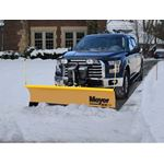 Meyer 9.0 Lot Pro StainSteel Snowplow 2