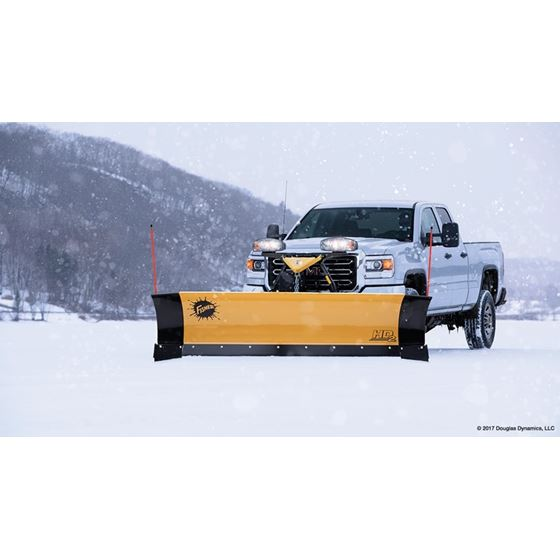 "Fisher 7.6"" HD2 Series Straight-Blade Snowplow-2"