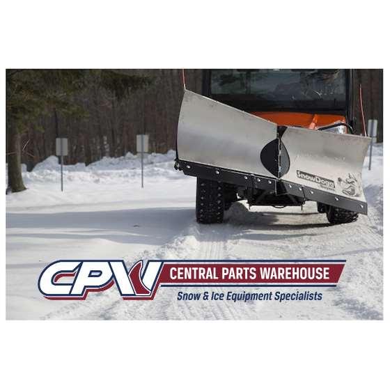 "Buyers Snowdogg Stainless 65"" UTV V-Plow Snowplow3"