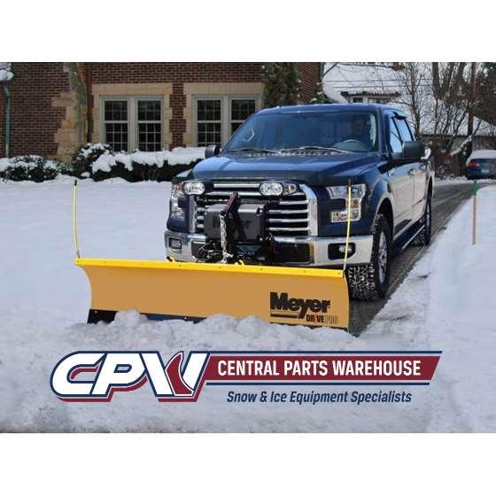 Meyer 8.5 Lot Pro Steel Snowplow-2