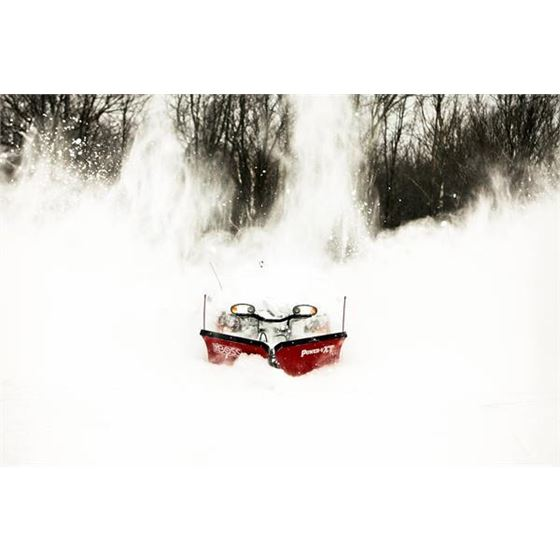 Boss 8.2 Steel Power VXT V-Plow Plowing