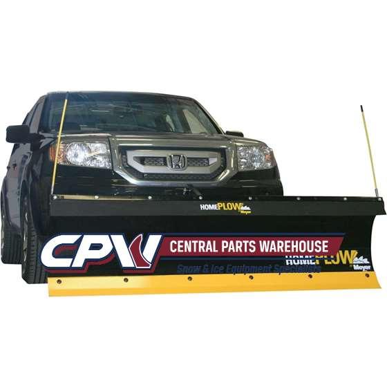 Meyer 6.8' HomePlow Hydraulic Angle Snowplow 02