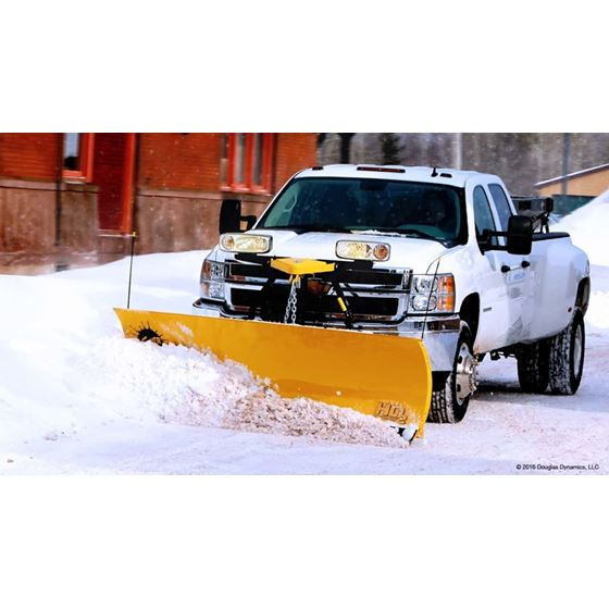 "Fisher 7.6"" HD2 Series Straight-Blade Snowplow-1"