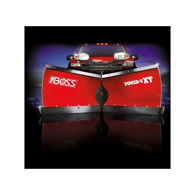 Boss 9.2 Poly Power VXT V-Plow Front