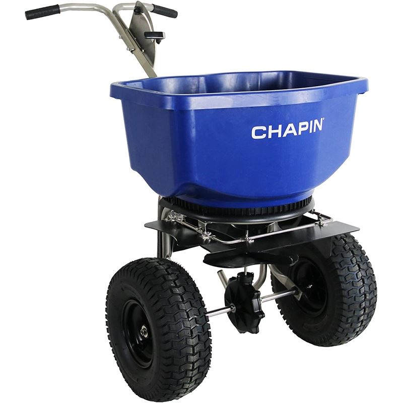 Chapin 100-Pound Stainless Professional Salt Sprea
