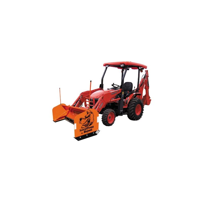 10'' Buyers Compact Scoop Dogg Snow Pusher