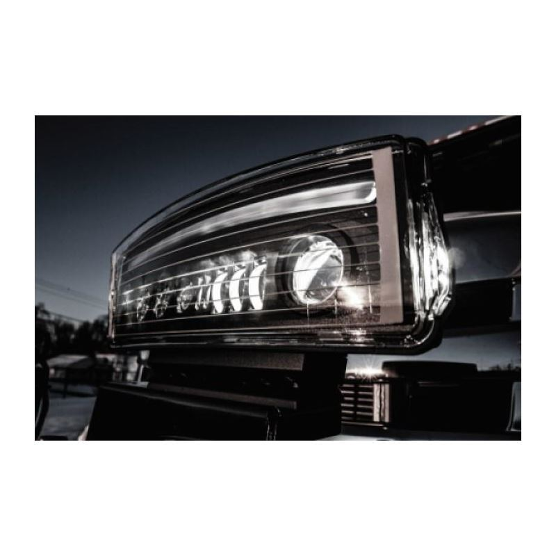 Western NightHawk LED Snow Plow Lights 16 Pin Upgr