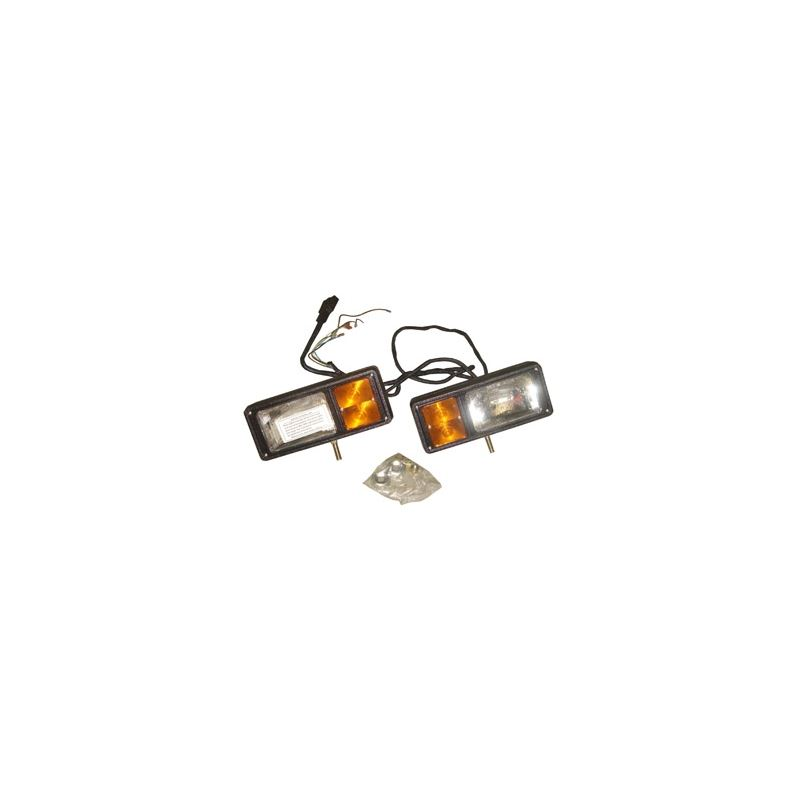 Western Headlight Kit 2003 And Up 12p