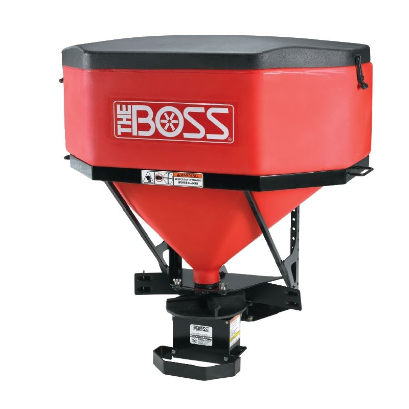 Boss TGS1100 Low Profile Poly Tailgate Salt Spreader @OEM BossCentral Parts Warehouse