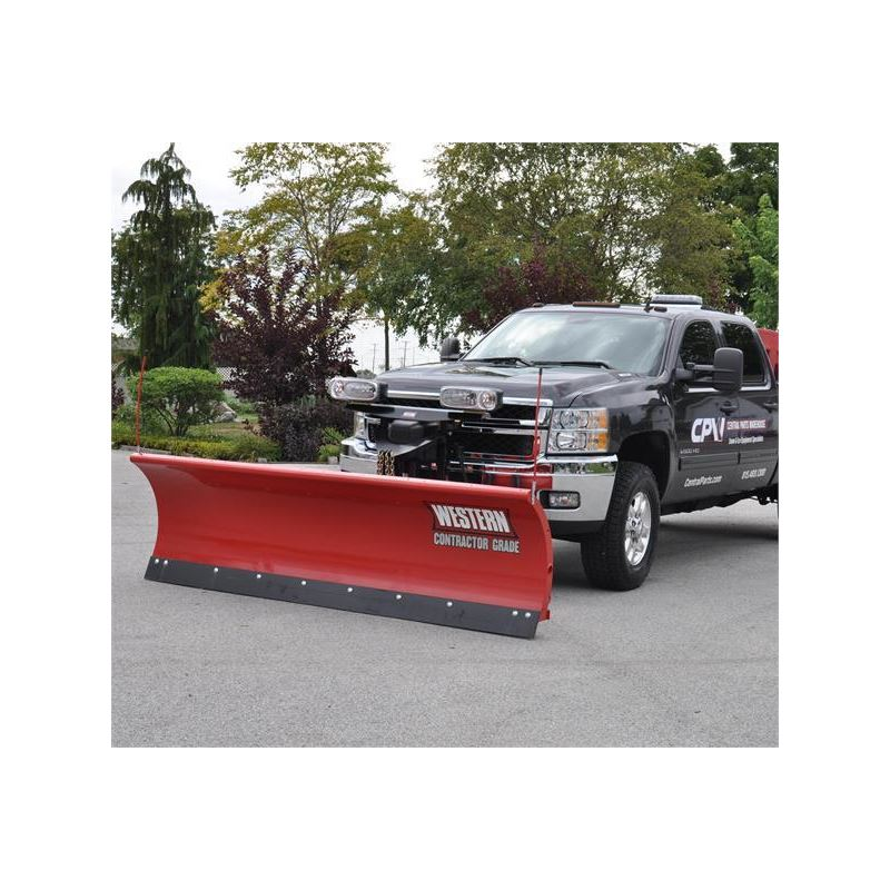Western 8.0' Steel Pro Plow Series 2 Straight Blade SnowplowWestern on