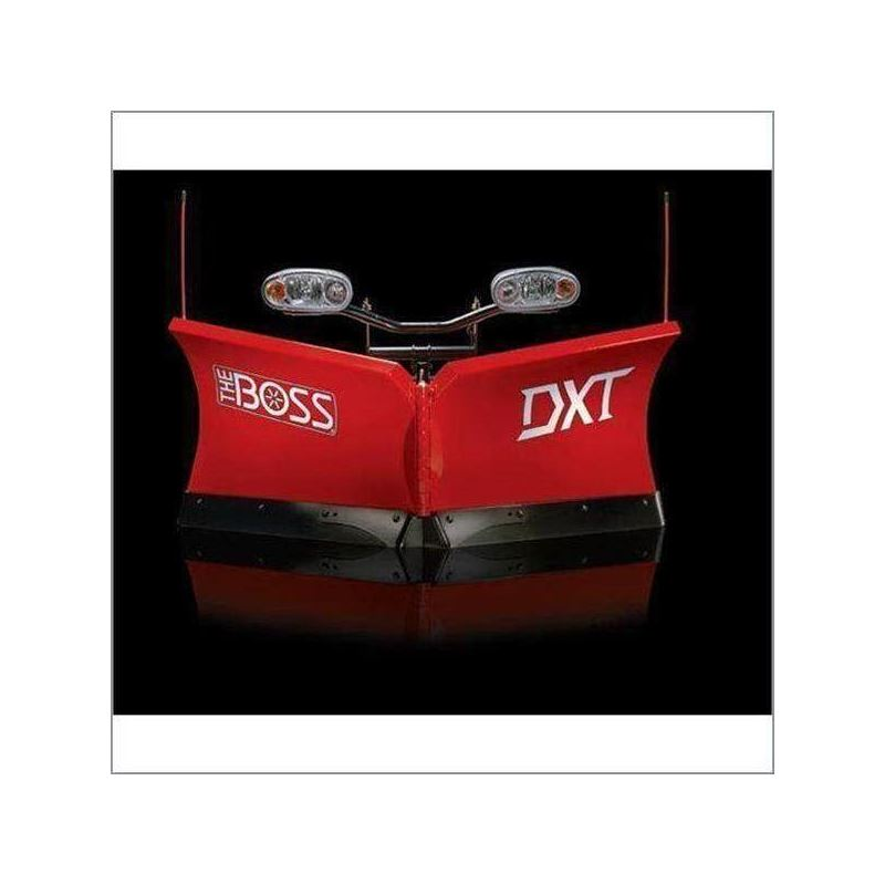 Boss 8.2 Steel Power V DXT V-Plow Front